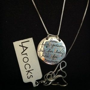 "💞LA rocks 18"" Necklace"